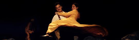 Helen Sjöholm and Anders Ekborg in the original Kristina från Duvemåla