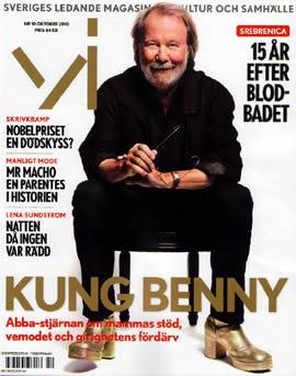 Vi magazine cover feat. Benny