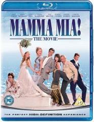 Mamma Mia! Blu-ray UK box cover