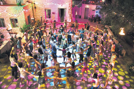 Voulez-Vous scene from Mamma Mia! the movie