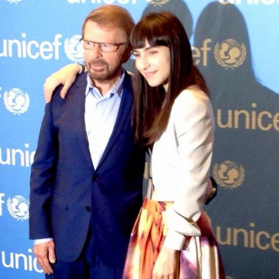 Björn and Laleh at the UN General Assembly in New York