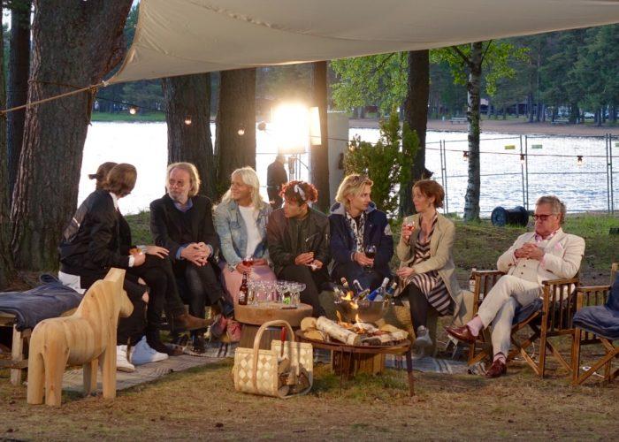 'Moraeus med mera' guests being interviewed