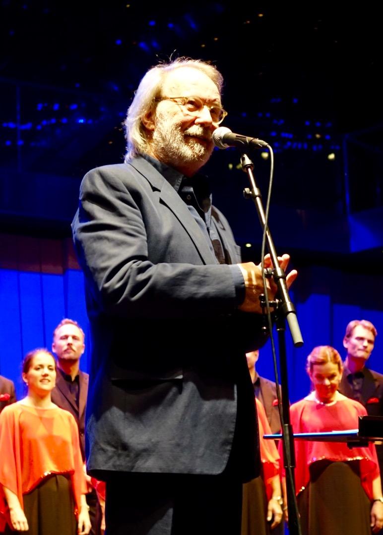 Benny on tour with Gustaf Sjökvists Kammarkör